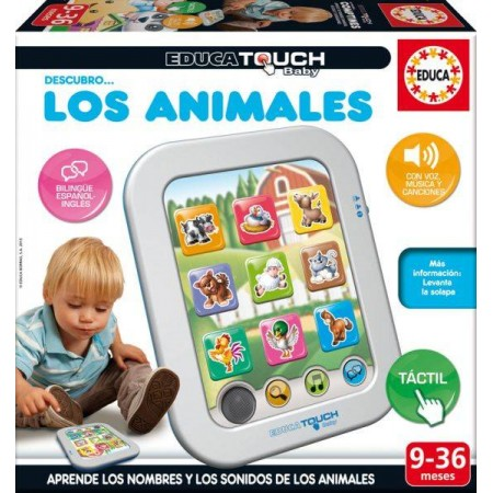 EDUCA TOUCH BABY LOS ANIMALES