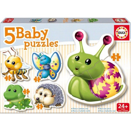 BABY PUZZLES ANIMALES DEL BOSQUE