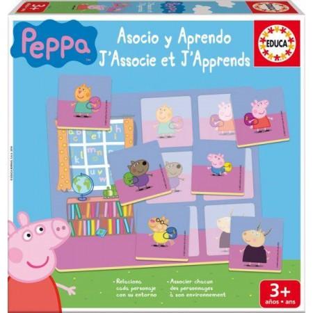 ASOCIO Y APRENDO PEPPA PIG