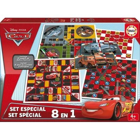 EDUCA SET ESPECIAL 8 EN 1 CARS