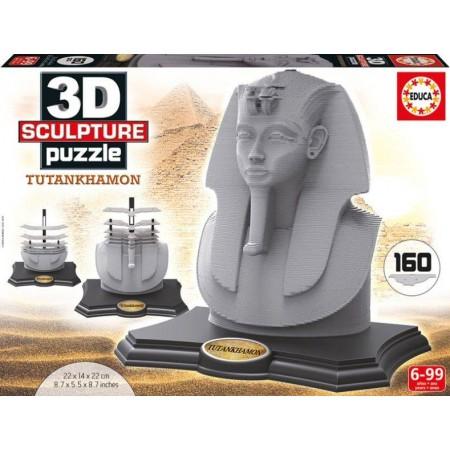 PUZZLE 3D SPULPTURE TUTANKHAMON