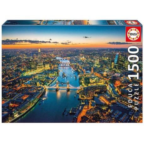 PUZZLE 1500 PZAS. LONDRES DESDE EL AIRE