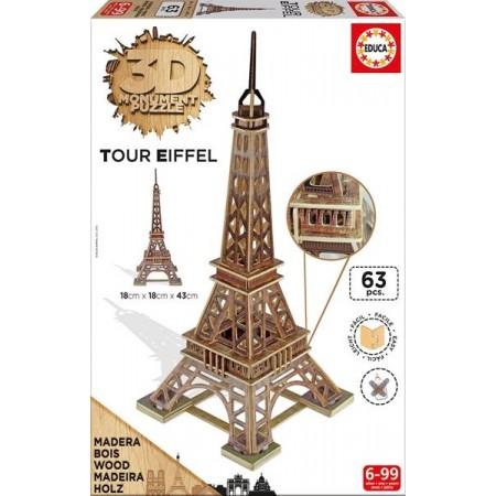 3D MONUMENT PUZZLE TORRE EIFFEL