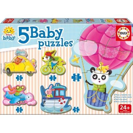 BABY PUZZLES ANIMALES AL VOLANTE