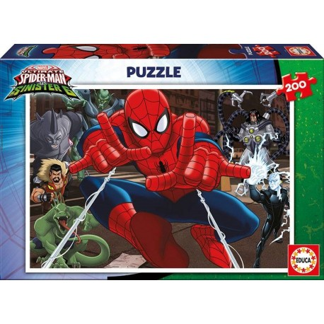 PUZZLE 200 PZAS. SPIDERMAN
