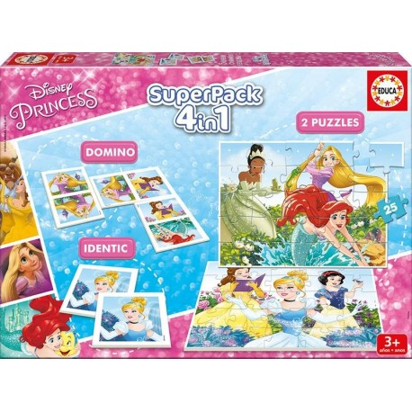 SUPERPACK PRINCESAS DISNEY