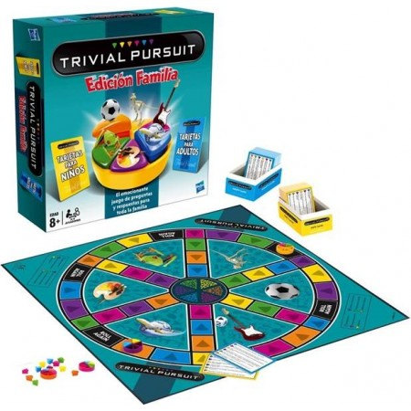 TRIVIAL PURSUIT EDICION FAMILIA