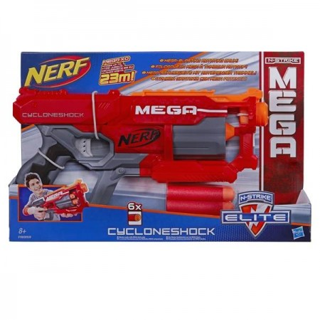 NERF MEGA CYCLONE SIX