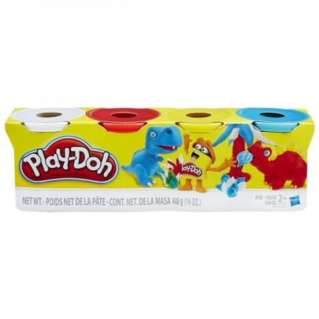 PLAY DOH PACK 4 BOTES
