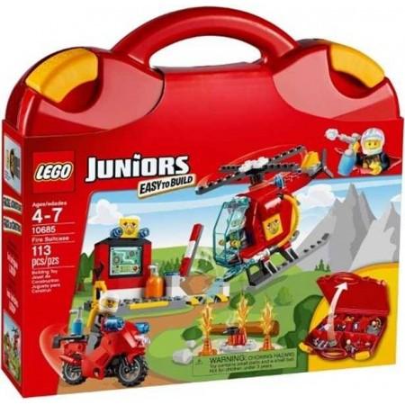 LEGO JUNIORS MALETIN BOMBEROS