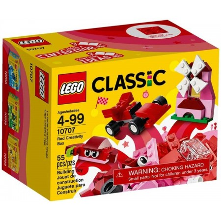 LEGO CLASSIC CAJA CREATIVA ROJA