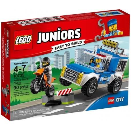 LEGO JUNIORS FURGON DE LA POLICIA EN ACCION