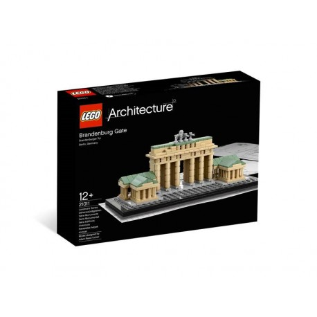 LEGO ARCHITECTURE PUERTA BRANDEBURGO